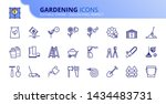simple set of outline icons...   Shutterstock .eps vector #1434483731