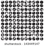collection of 121 tools doodled ... | Shutterstock .eps vector #143449147