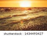 Baltic Sea Coastal Landscape At ...