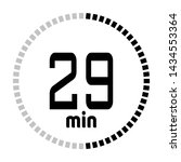 the 29 minutes countdown timer...