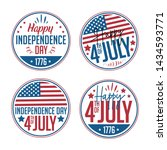 4th of july. united stated... | Shutterstock .eps vector #1434593771