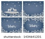 merry christmas and happy new...   Shutterstock .eps vector #1434641201