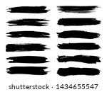 collection of artistic grungy... | Shutterstock . vector #1434655547