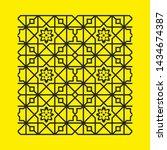 laser cut vector panel. elegant ... | Shutterstock .eps vector #1434674387