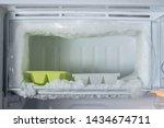 Empty Freezer Of A Refrigerato...