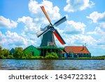 The Famous Zaanse Schans Mills...