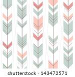 seamless geometric pattern in... | Shutterstock .eps vector #143472571