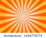 yellow sunshine vector... | Shutterstock .eps vector #1434770774