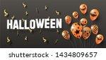 halloween festival concept... | Shutterstock .eps vector #1434809657