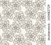 seamless pattern. floral... | Shutterstock .eps vector #143482729