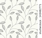 Vector Seamless Pattern. Flora...