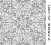 seamless lace floral pattern... | Shutterstock .eps vector #143486599