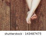happy feet | Shutterstock . vector #143487475