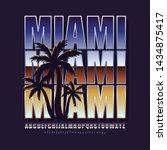 logo  emblem  poster in vintage ... | Shutterstock .eps vector #1434875417