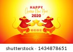 vector banner with a... | Shutterstock .eps vector #1434878651