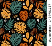 seamless pattern with different ... | Shutterstock .eps vector #1434901157