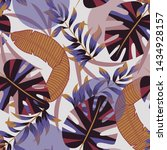 trend seamless pattern with... | Shutterstock .eps vector #1434928157