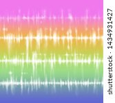 Bright gradient tie dye stripes