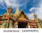 statue of thotsakhirithon ...   Shutterstock . vector #1434940991