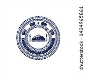 blue special food icon inside... | Shutterstock .eps vector #1434965861