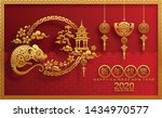 chinese new year 2020 year of... | Shutterstock .eps vector #1434970577