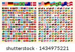 all flags of the world. all... | Shutterstock .eps vector #1434975221
