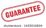 guarantee square grunge... | Shutterstock .eps vector #1435010834