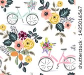 Cute Bikes And Floral Bouquets  ...