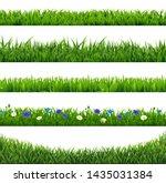 Green Grass Collection Border...