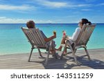 happy young couple relax and... | Shutterstock . vector #143511259