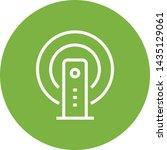 wireless internet modem outline ... | Shutterstock .eps vector #1435129061