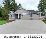 Small photo of Gig Harbor, WA / USA - June 23, 2019: Residential front exterior