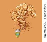 hand drawing vector concept.... | Shutterstock .eps vector #143514604