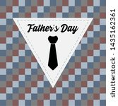 happy father day vintage gift... | Shutterstock .eps vector #1435162361