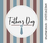 happy father day vintage gift... | Shutterstock .eps vector #1435162364