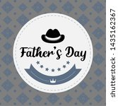 happy father day vintage gift... | Shutterstock .eps vector #1435162367