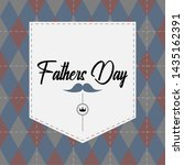 happy father day vintage gift... | Shutterstock .eps vector #1435162391