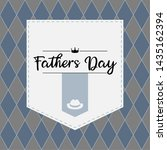 happy father day vintage gift... | Shutterstock .eps vector #1435162394