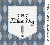 happy father day vintage gift... | Shutterstock .eps vector #1435162397