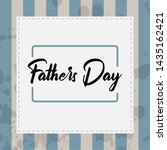 happy father day vintage gift... | Shutterstock .eps vector #1435162421