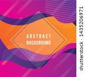 modern abstract geometric shape ... | Shutterstock .eps vector #1435206971
