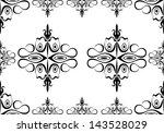 seamless wallpaper pattern   Shutterstock .eps vector #143528029