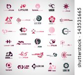 business icons set   isolated...   Shutterstock .eps vector #143531665