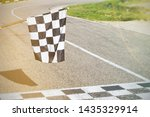 The Finish Line And Checkered...