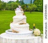 wedding cake | Shutterstock . vector #143544481