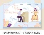 music is the best hobby... | Shutterstock .eps vector #1435445687