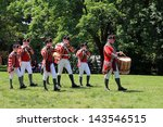 toronto   june 15  musicians at ... | Shutterstock . vector #143546515