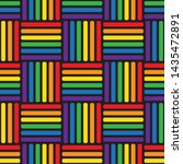 seamless pattern with gay... | Shutterstock .eps vector #1435472891