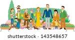 gardening   Shutterstock . vector #143548657