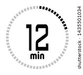 the 12 minutes countdown timer...